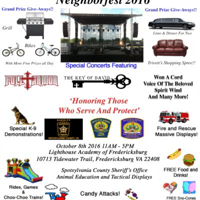 Neighborfest Flyer 2016