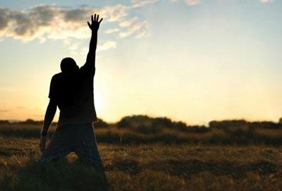 Jesus lifts us up.